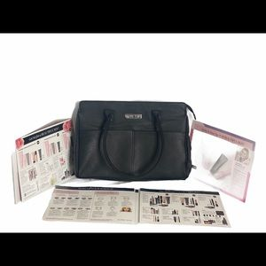 Mary Kay Tote Bag Briefcase Black Travel Case